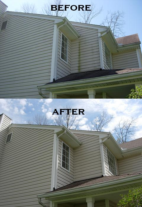 Vinyl Siding Cleaning Roof Cleaning In Cincinnati Oh
