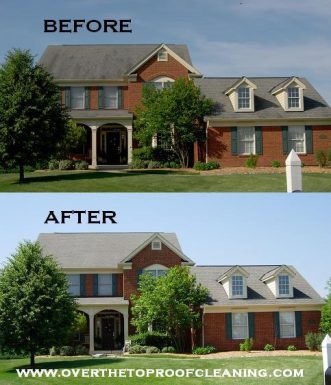Roof Cleaning in Loveland
