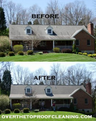 Roof Cleaning West Chester